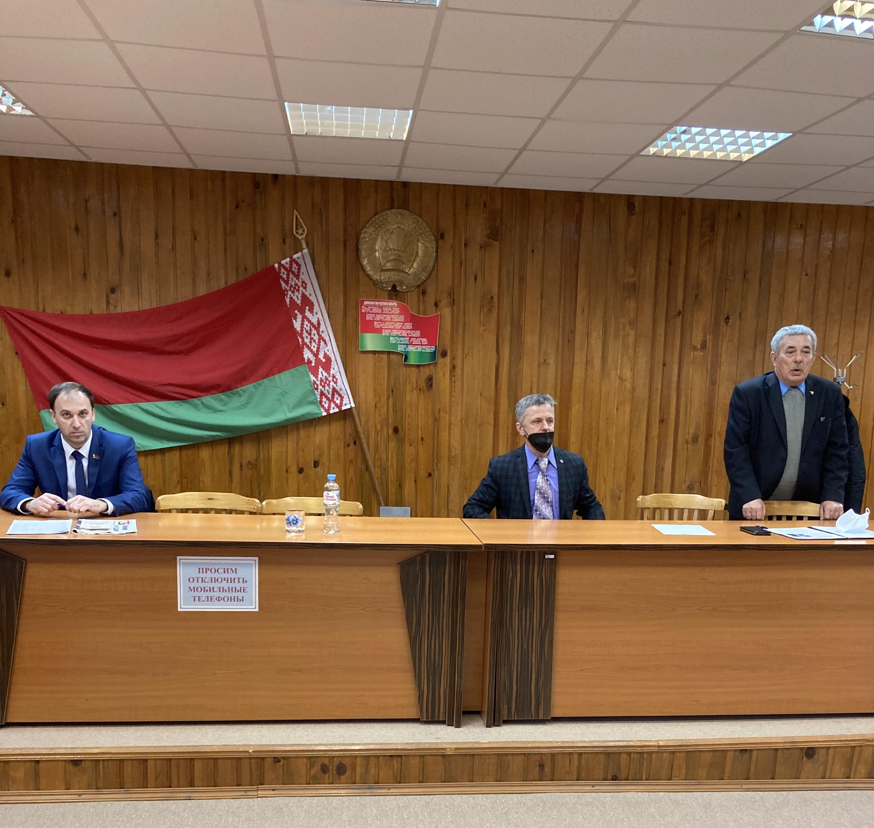 Встреча с участниками VI Всебелорусского народного собрания